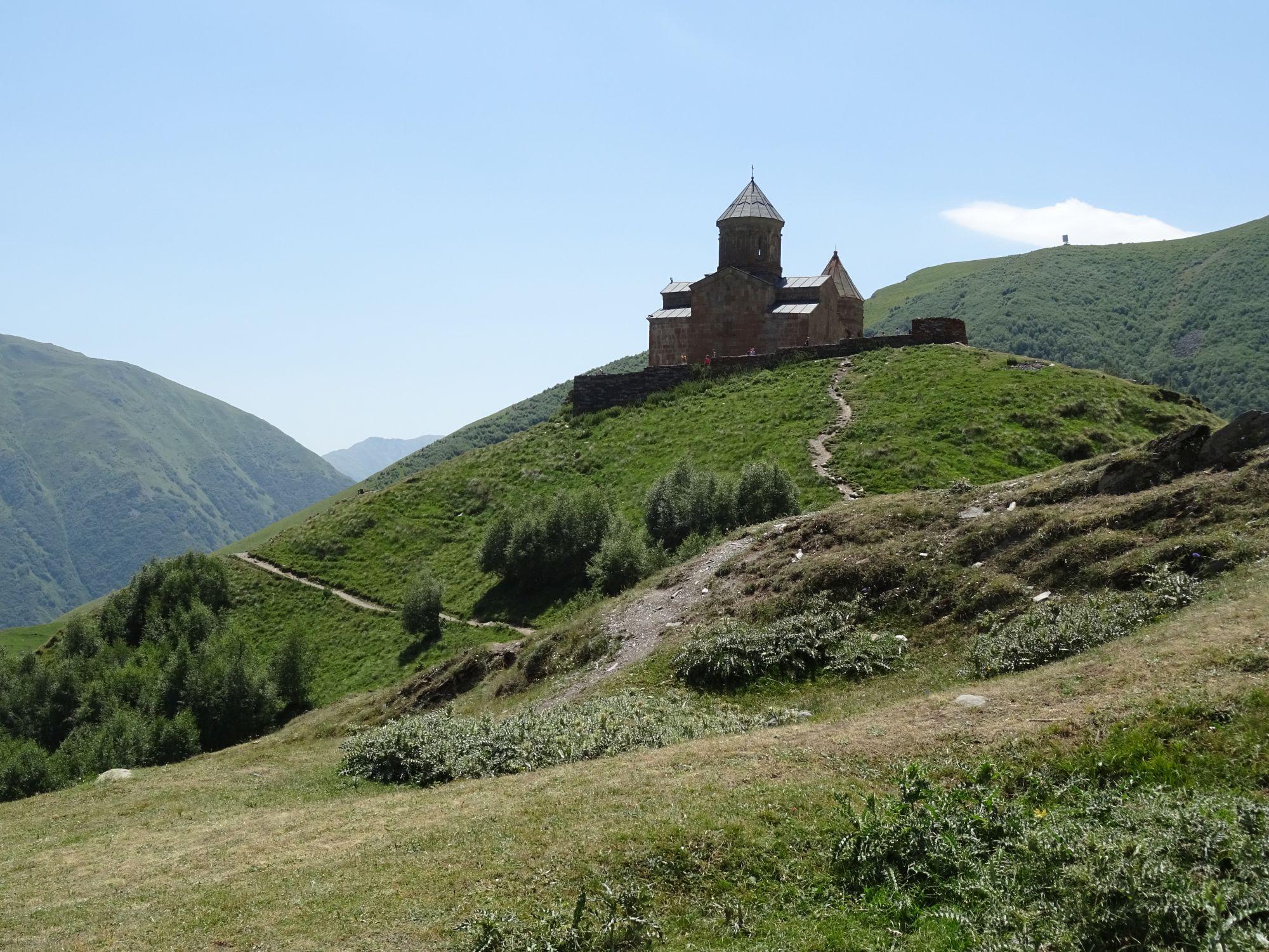 kazbegi trinity church