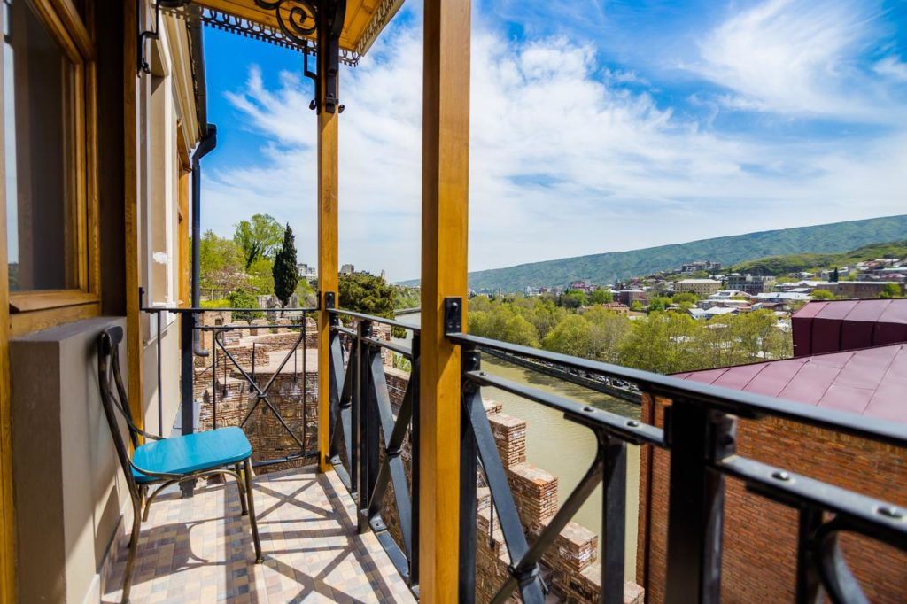 Metekhis Galavani Hotel Balcony