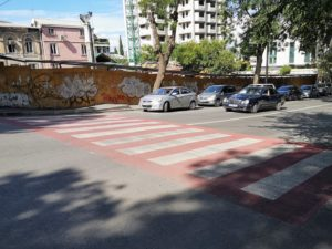 Crosswalks in Tbilisi