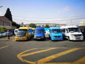 didube station tbilisi minibuses