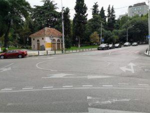 Roundabouts in Georgia Tbilisi