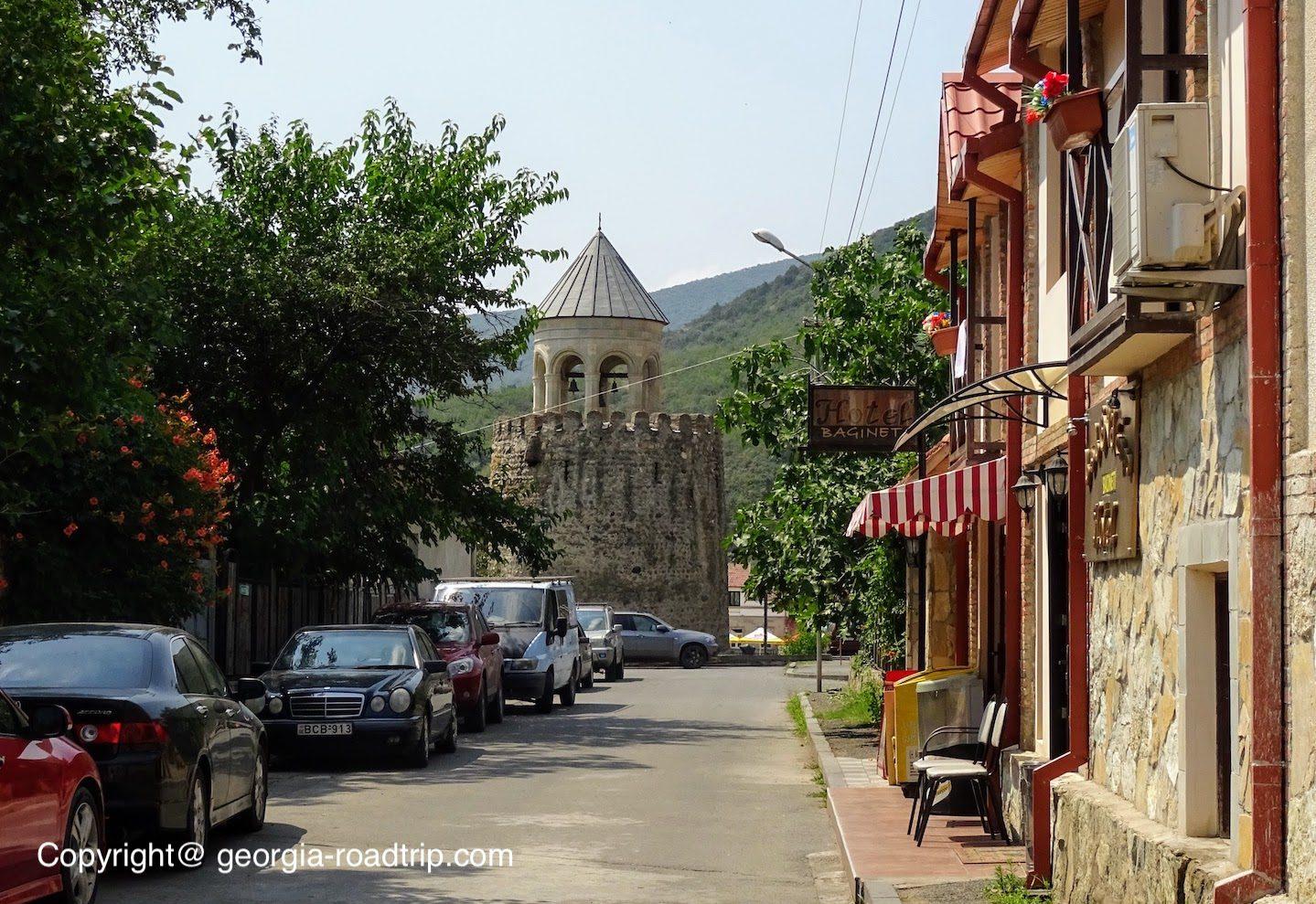 Mtskheta city center georgia