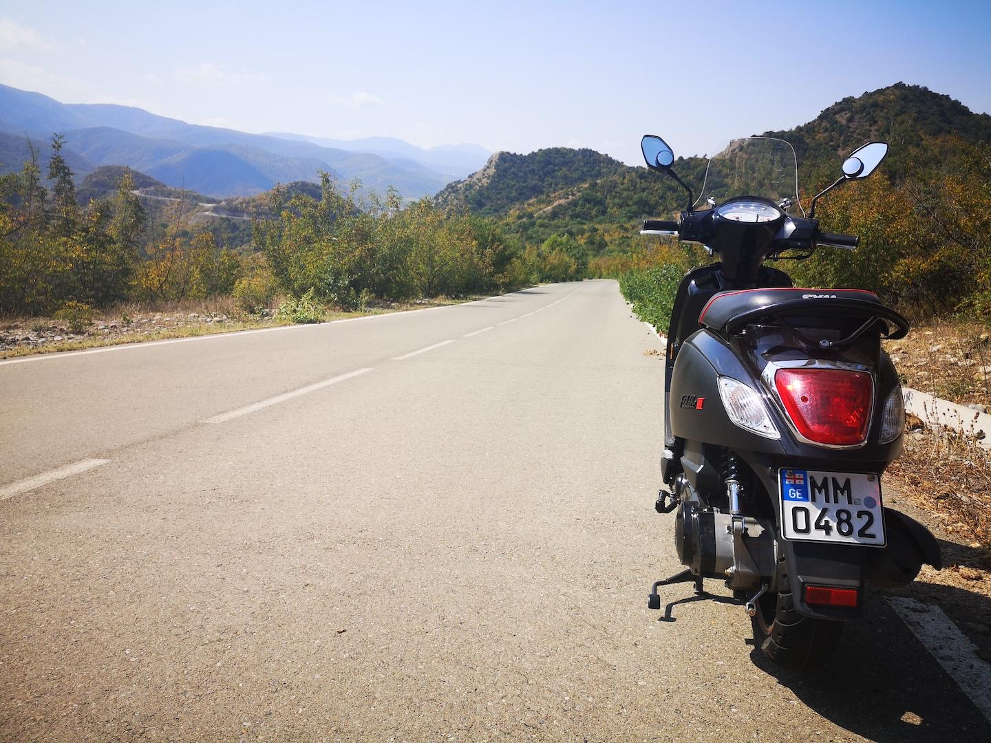 On the way to Shio Mgvime Monastery