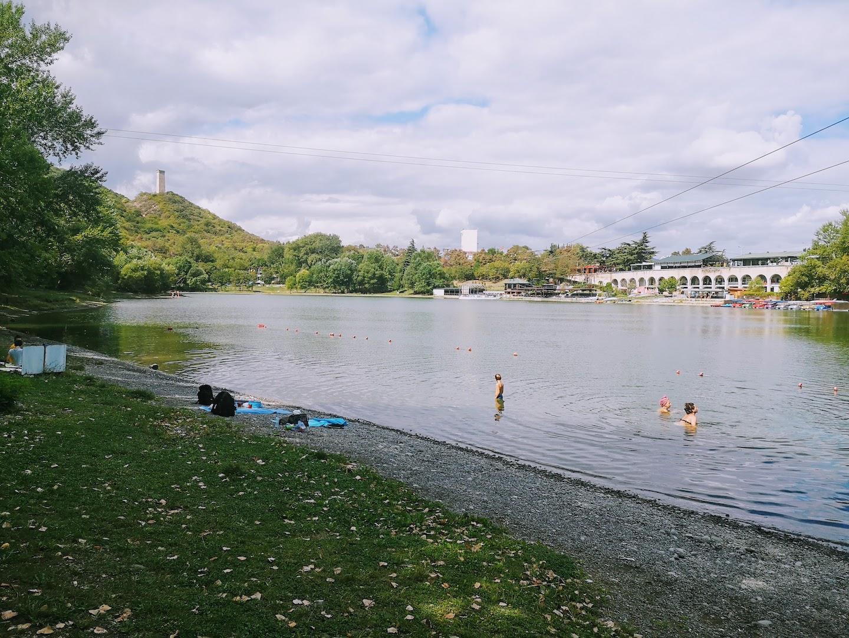 Swimming in Turtle Lake Tbilisi