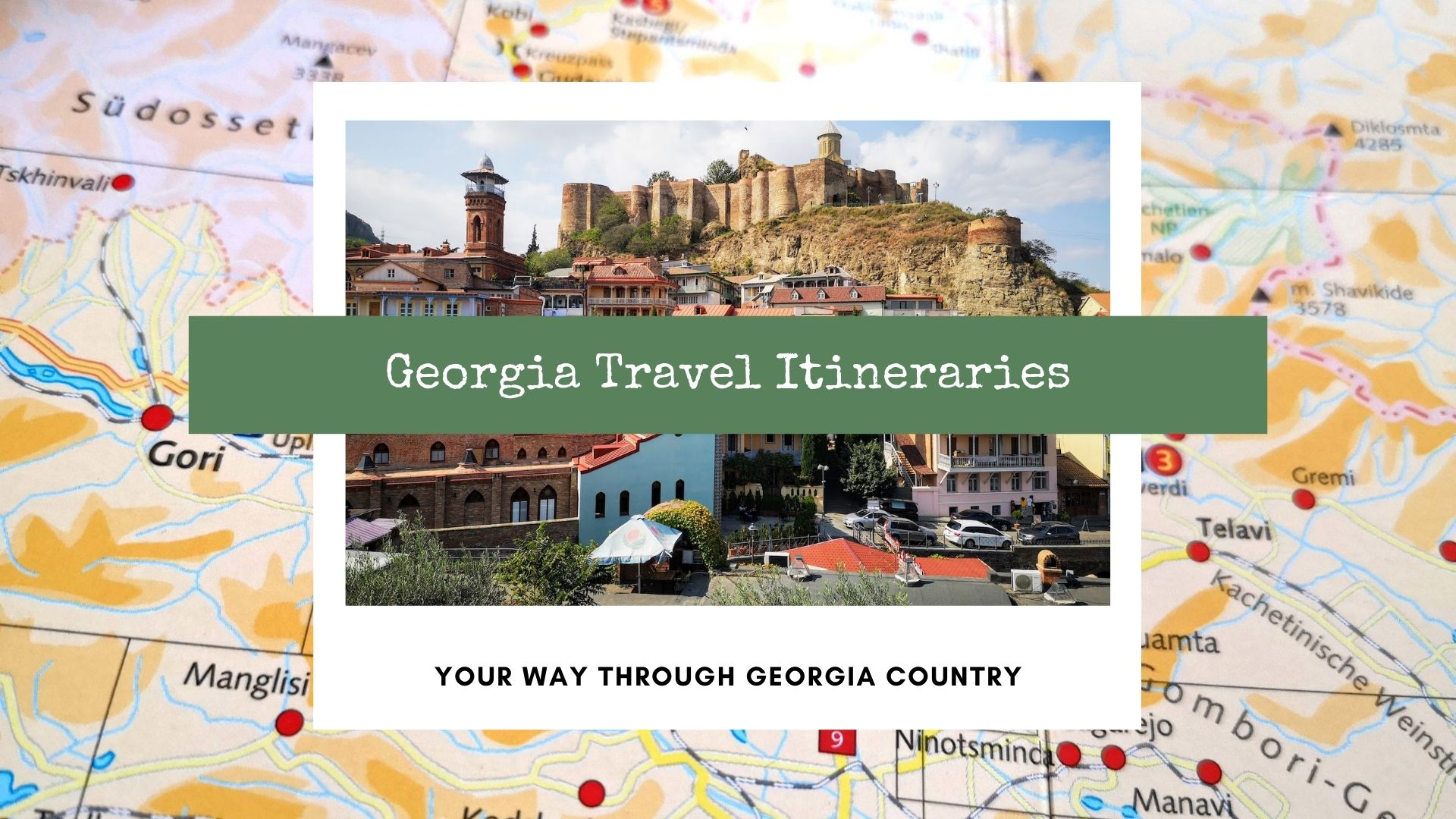 georgia country travel itinerary