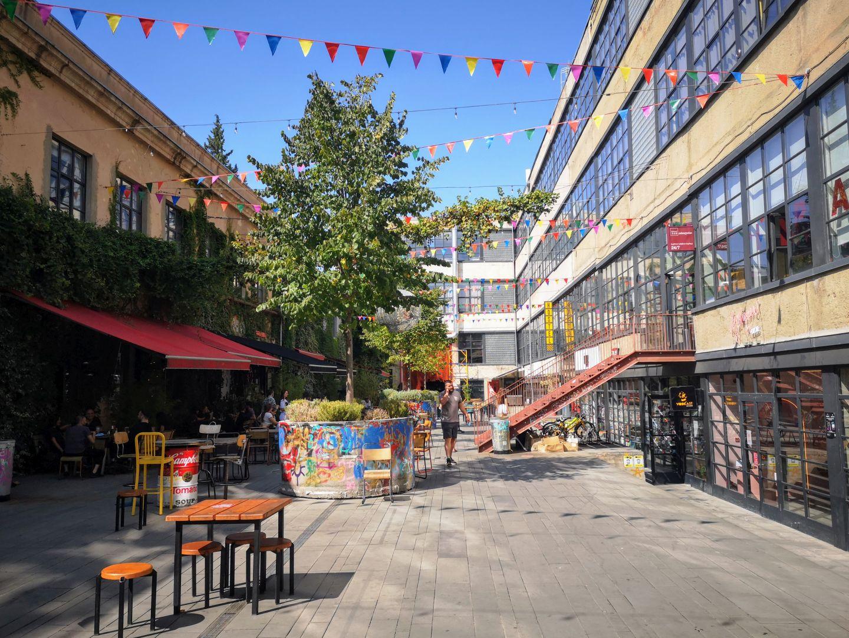 fabrika tbilisi courtyard