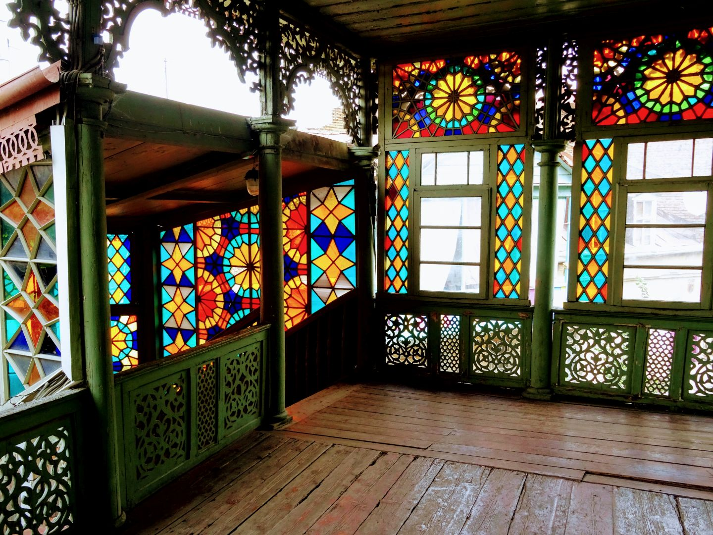 stained glass house tbilisi