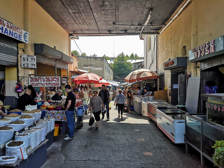 tbilisi dezerter bazaar local market