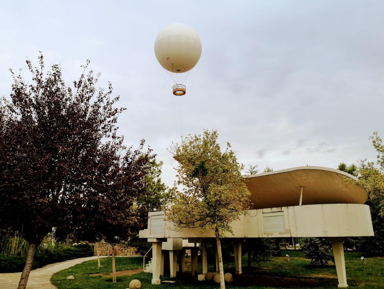 hot air balloon ride tbilisi rike park