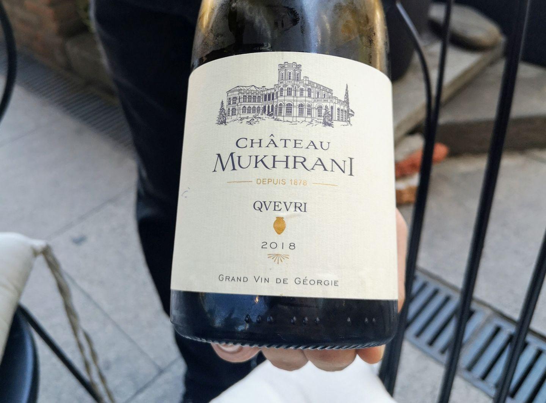 Chateau Muhkrani Wine Georgia