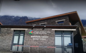 kazbegi visitor center