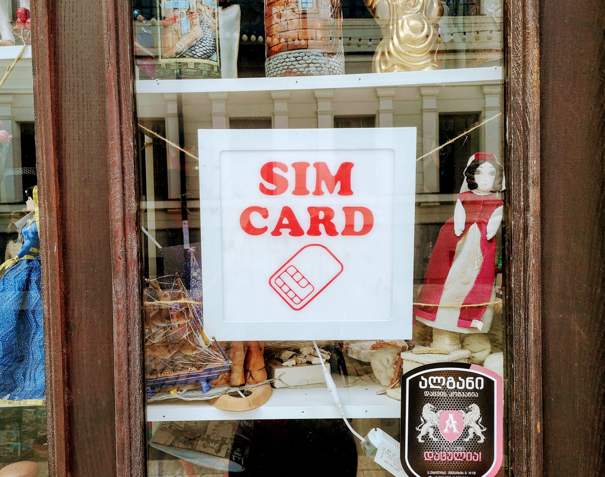 buying a sim card in georgia
